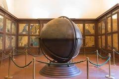Mappa Mundi w Hall geographical mapy w Palazzo Vecchio, Florencja, Tuscany, Włochy Obrazy Royalty Free