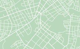 Mappa stradale della città illustrazione vettoriale