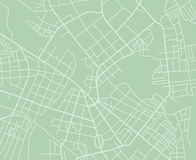 Mappa verde di vettore illustrazione di stock