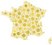 Mappi se la Francia Fotografie Stock Libere da Diritti