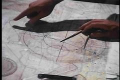 Mapping out military strategy
