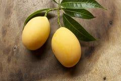 Maprang, mariam pruimfruit royalty-vrije stock foto's