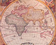 Maps of the ancient world Royalty Free Stock Image