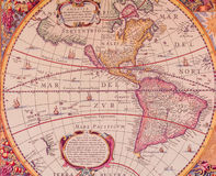 Maps of the ancient world Royalty Free Stock Photo
