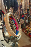Mapuche乐器 免版税库存照片