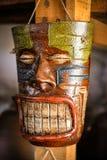 Mapuche人民的面具 免版税库存图片