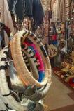Mapuche muzikaal instrument royalty-vrije stock foto's