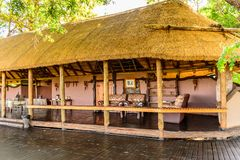 Mapula-Häuschenhotel Lizenzfreie Stockbilder
