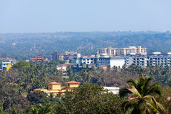 Mapusa goa india. Aerial landscape Royalty Free Stock Photo