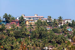 Mapusa goa india. Aerial landscape Royalty Free Stock Photography
