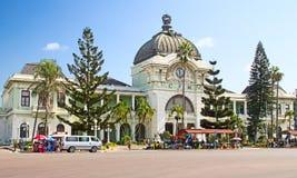 Maputo-Bahnstation stockfotografie