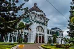 Maputo Central Train Station, Railway Station also known as CFM royalty free stock photography