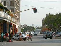 Maputo, Moçambique - 11 de dezembro de 2008: na capital de Mozamb Fotos de Stock Royalty Free