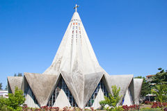 Maputo, Mozambique. Church in Polana district of Maputo, Mozambique Royalty Free Stock Image