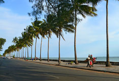 Maputo, Mozambique - December 12, 2008: in the capital of Mozamb Royalty Free Stock Photos