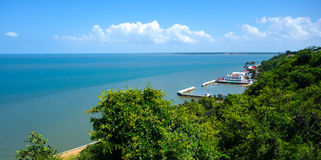 Maputo ocen front view Royalty Free Stock Photos