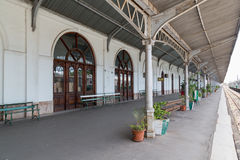 Maputo Railway Station Royalty Free Stock Photo