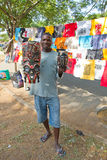 Maputo Staurday's market Royalty Free Stock Images