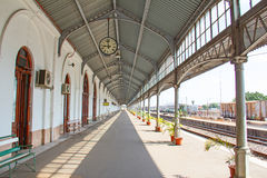 Maputo train station Royalty Free Stock Images