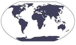 mapy świata sylwetki