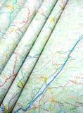 mapy Zdjęcia Stock