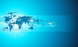 mapy biznesowy miejsce Fotografia Stock