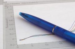 mapy długopis Zdjęcia Stock