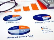 mapy inwestycja Zdjęcie Stock