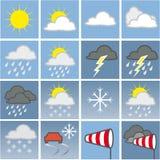 mapy pogoda ilustracji