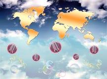 mapy sprzedaż Zdjęcie Royalty Free