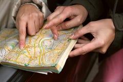 mapy street Zdjęcia Royalty Free
