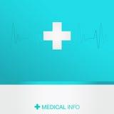 mapy tła oko medical optometrist Ilustracja Wektor