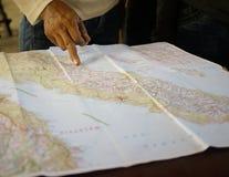 mapy target4088_0_ Zdjęcie Royalty Free