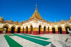Maqhamuni Paya, Mandalay, Myanmar. Stock Image