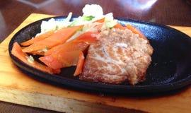 Maquereau d'or grillé Photos stock