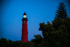 Maquereau De Leon Inlet Lighthouse et musée photographie stock libre de droits
