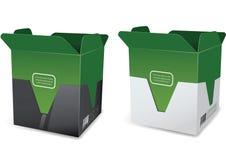 Maqueta de la caja Imagen de archivo