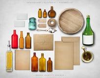 Maqueta de la identidad de marca Fotos de archivo libres de regalías