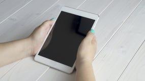 Maqueta de la tableta Fotos de archivo