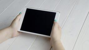 Maqueta de la tableta Foto de archivo libre de regalías