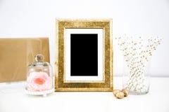 Maqueta de las ilustraciones para las impresiones Fotos de archivo libres de regalías