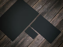 Maqueta de marcado en caliente negra representación 3d Libre Illustration