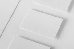 Maqueta determinada de los efectos de escritorio corporativos Imagen de archivo