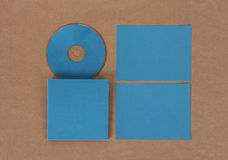 Maqueta para presentar nuevo diseño Foto de archivo libre de regalías