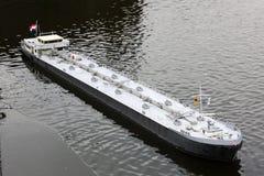 Maquette плавания грузового корабля Стоковая Фотография