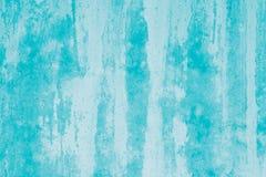 Maquette abstraite de turquoise Fond vert avec des taches de peinture Art moderne Taches sur la toile, contexte Illustration Modè image libre de droits