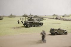 German tanks during operation Prokhorovka Stock Images