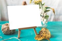 Maquette d'identité et de métier avec le rétro effet de filtre Photo stock