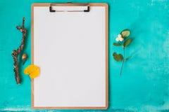 Maquette d'identité et de métier avec le rétro effet de filtre Photographie stock libre de droits