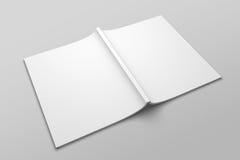 Maquette d'illustration de magazine ou de brochure 3D de lettre des USA aucune 6 Image libre de droits